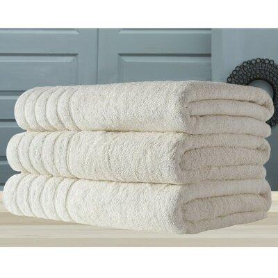 Barnum Combed Bath Towel Color: Ivory