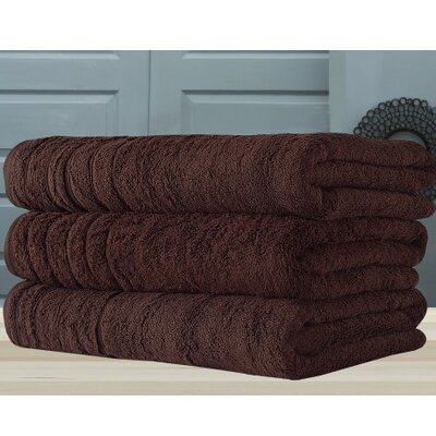 Barnum Bath Towel Color: Chocolate