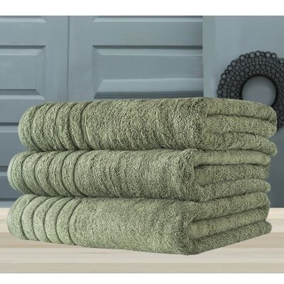 Barnum Bath Towel Color: Green
