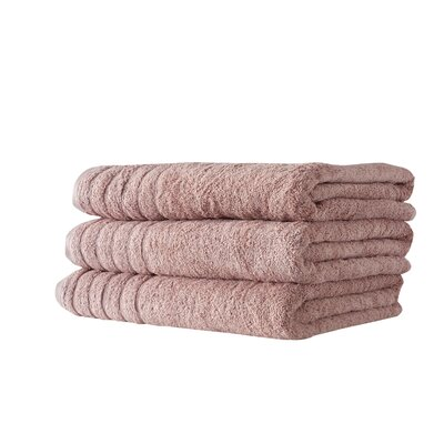Barnum Combed Bath Towel Color: Rose