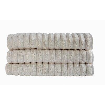 Brampton Bath Sheet Color: Ivory
