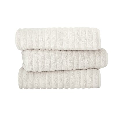 Brampton Combed Bath Sheet Color: Ivory