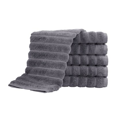 Brampton Combed Hand Towel Color: Gray