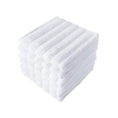 Brampton Wash Cloth Color: White