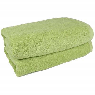 Salbakos Bath Sheet Color: Green