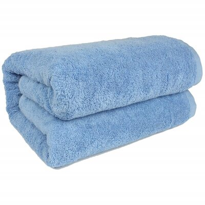 Salbakos Bath Sheet Color: Blue