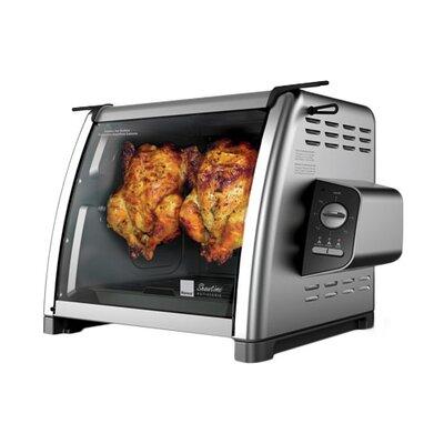 Ronco - Showtime Rotisserie 5500 Series 15-Lb. Rotisserie Oven - Stainless-Steel ST5500SSGEN