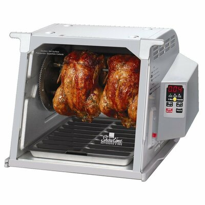 Digital Showtime� Grey Edition BBQ and Rotisserie Oven 665860010028