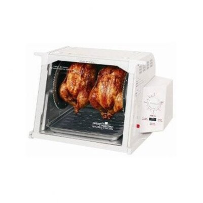 Compact Rotisserie Electric Oven Color-white