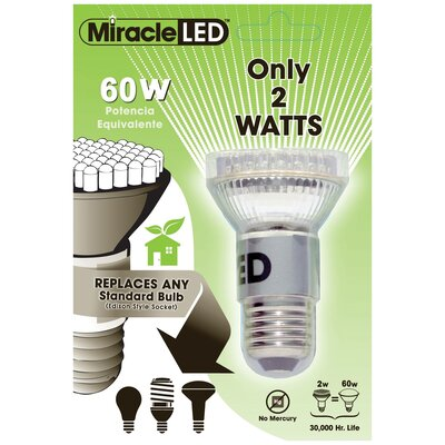 60W 130-Volt LED Light Bulb