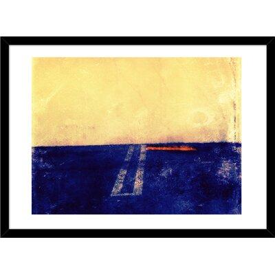 Parking Lot by Matt Kayden Framed Painting Print Size: 20