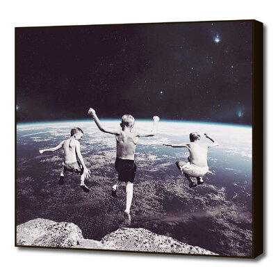Free Falling by Terry Ringler Framed Graphic Art L_PR00239947_FAB