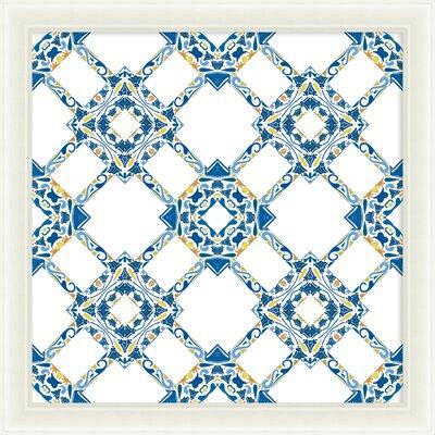 Portuguese Tile Framed Graphic Art