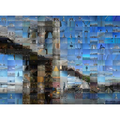 Brooklyn Bridge by Michael Sean Gallaher Graphic Art 10194