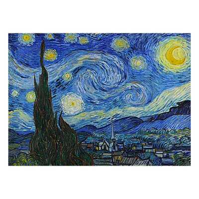 The Starry Night by Van Gogh Painting Print 10102