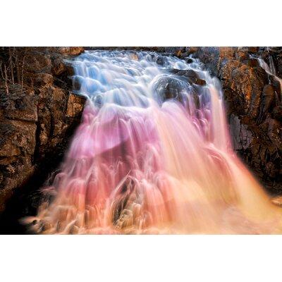 Vibrant Bokeh Falls Photographic Print 10251