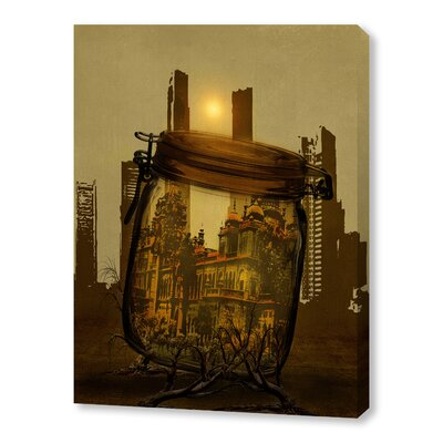 The Last Vintage City Graphic Art on Wrapped Canvas