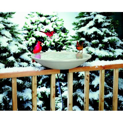 Allied Precision Industries Deck Mount Heated Bird Bath at Sears.com