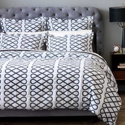 Loop Duvet - Ink Size: Full/Queen