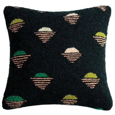 Savion Raid Wool Throw Pillow