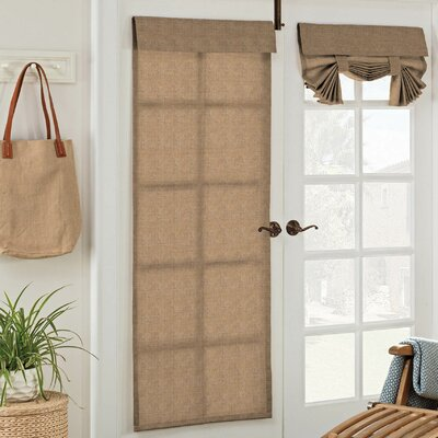 Key Largo Solid Semi-Opaque Indoor/Outdoor Grommet/Eyelet Single Curtain Panel