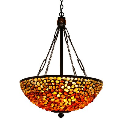 3-Light Bowl Pendant