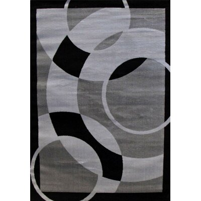 Abstract Gray Area Rug Rug Size: Rectangle 710 x 106