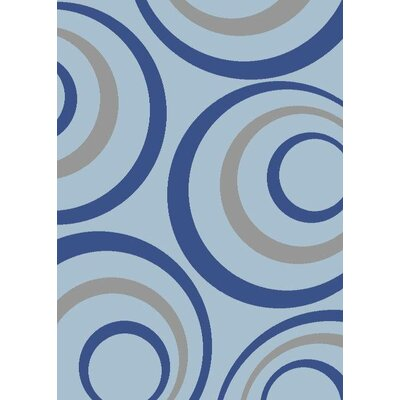 Light Blue Area Rug Rug Size: Rectangle 2 x 3