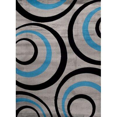 Turquoise Area Rug Rug Size: 710 x 102