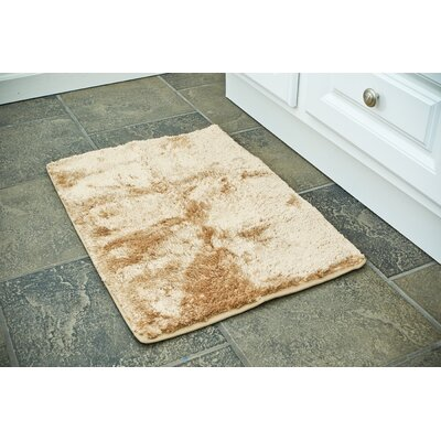 3 Piece Bath Rug Set Color: Beige