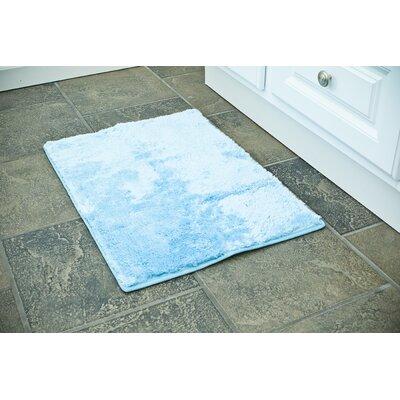3 Piece Bath Rug Set Color: Blue