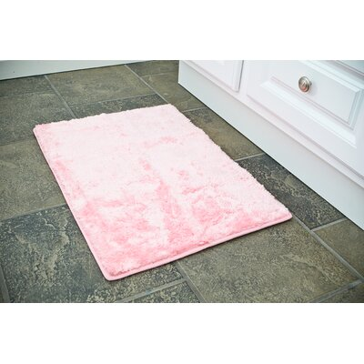 3 Piece Bath Rug Set Color: Pink