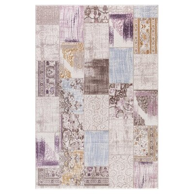 Taksim Cream Area Rug Rug Size: Rectangle 53 x 72