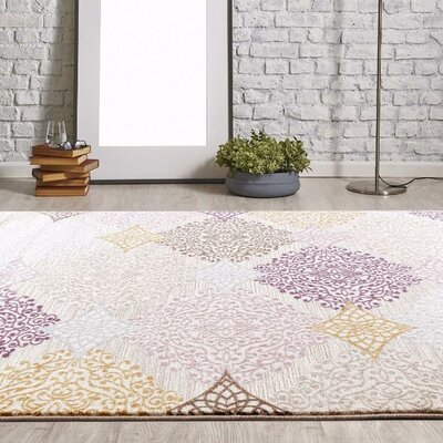 Taksim Pastel Colors Area Rug Rug Size: Rectangle 2 x 3