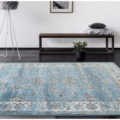 Tobis Blue Area Rug Rug Size: 710 x 106