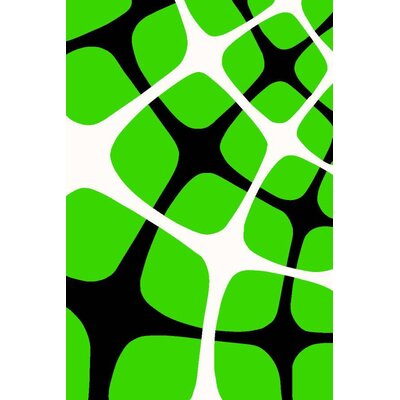 Tobis Lime Green Indoor/Outdoor Area Rug Rug Size: 5 x 7