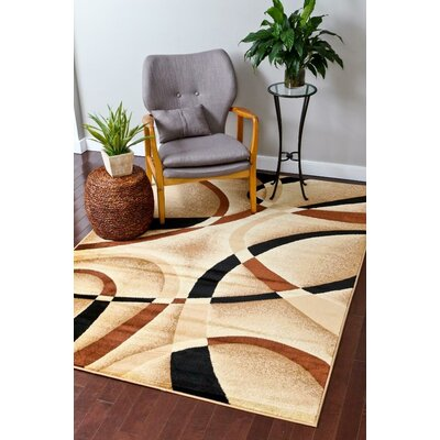 Tobis Beige Indoor/Outdoor Area Rug