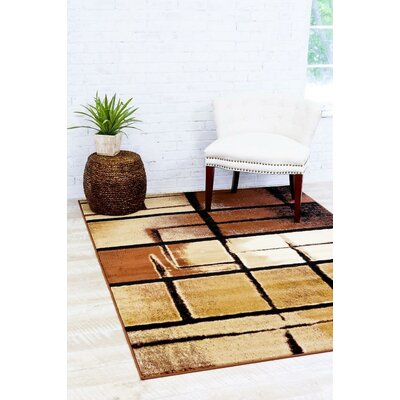 Bennet Beige Indoor/Outdoor Area Rug Rug Size: 52 x 72
