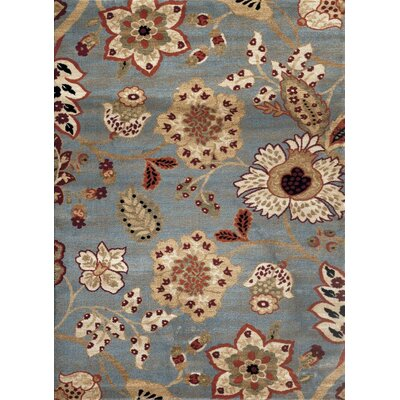 Tobis Blue Indoor/Outdoor Area Rug Rug Size: Rectangle 52 x 72