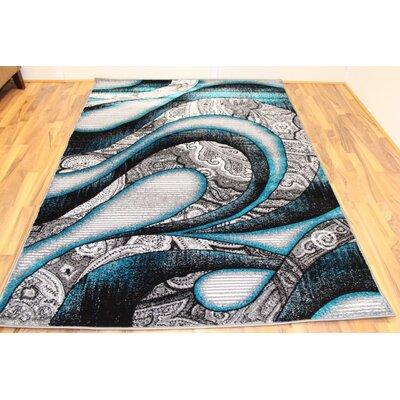 Avalon Turquoise Area Rug Rug Size: 7'10