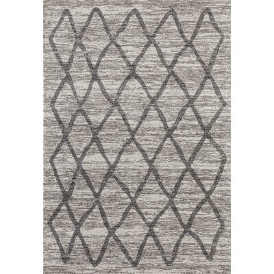 Dunmurry Gray Area Rug Rug Size: Rectangle 710 x 106