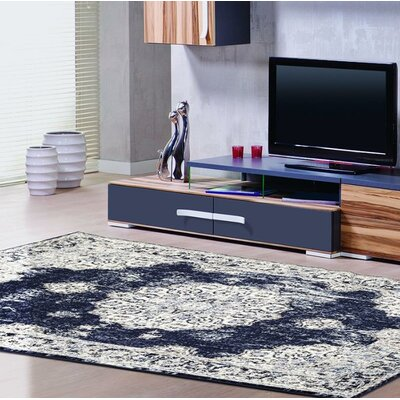 Lilienthal Distressed Navy Area Rug Rug Size: Rectangle 710 x 106