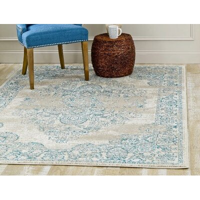 Danae Oriental Cream Area Rug Rug Size: Rectangle 2 x 3