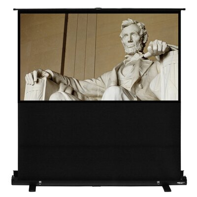 Matte White 100 Diagonal Portable Projection Screen