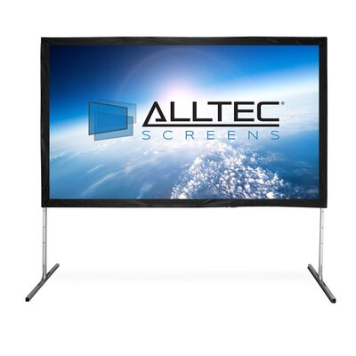 Folding Frame Portable Projection Screen Viewing Area: 165 Diagonal