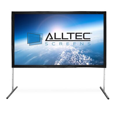 Folding Frame Portable Projection Screen Viewing Area: 200 Diagonal