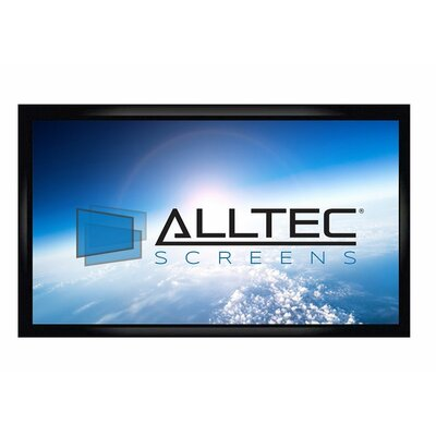 White Fixed Frame Projection Screen Viewing Area: 120 Diagonal