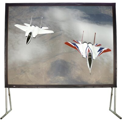 Matte White 100 Diagonal Fixed Frame Projection Screen