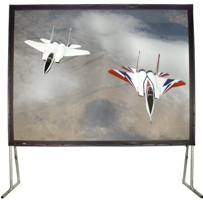 Matte White 110 Diagonal Fixed Frame Projection Screen