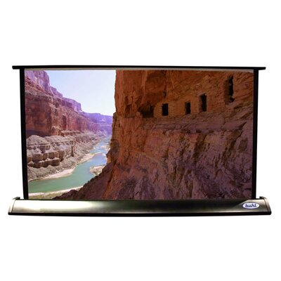 Matte White Electric Projection Screen Viewing Area: 24 H x 32 W